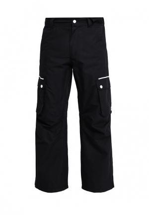 Брюки горнолыжные CLWR. Цвет: черный