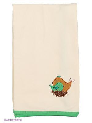 Пелёнка-покрывальце HappyBabyDays. Цвет: бежевый