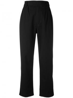 Укороченные брюки Margaret Howell. Цвет: чёрный