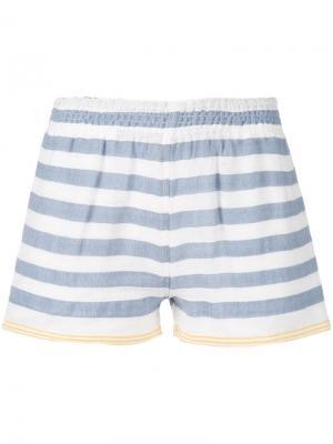 Полосатые шорты Lemlem. Цвет: синий