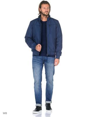 Куртка GEOX. Цвет: индиго
