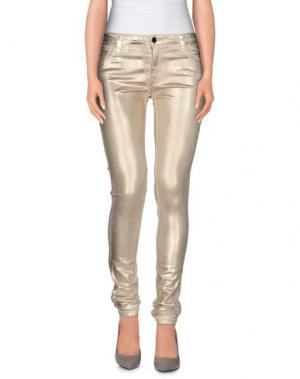 Повседневные брюки 75 FAUBOURG. Цвет: бежевый