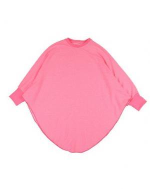 Толстовка NUNUNU. Цвет: розовый