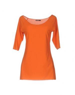 Футболка ALMERIA. Цвет: оранжевый