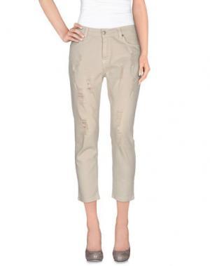 Повседневные брюки ANIYE BY. Цвет: серый