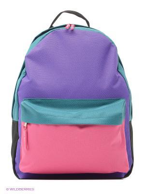 Рюкзак ANTAN. Цвет: зеленый, фиолетовый, розовый