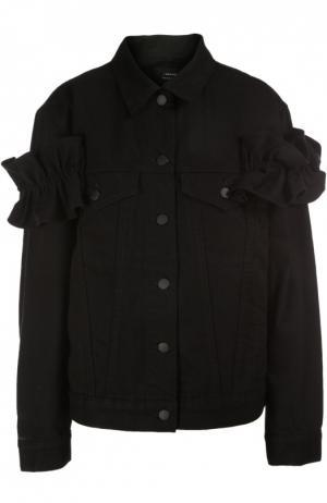 Джинсовая куртка Simone Rocha J Brand. Цвет: черный