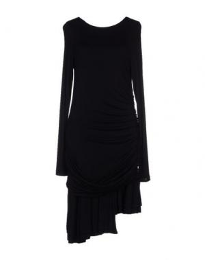 Короткое платье EUREKA. Цвет: черный