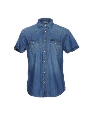 Джинсовая рубашка WRANGLER. Цвет: синий