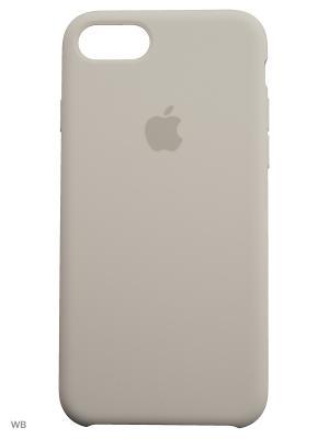 Чехол (клип-кейс) APPLE MMWF2ZM/A, для iPhone 7. Цвет: белый