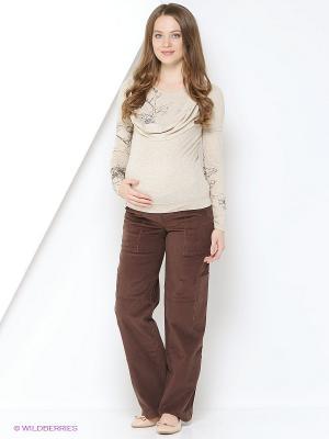 Блуза Mamita. Цвет: бежевый
