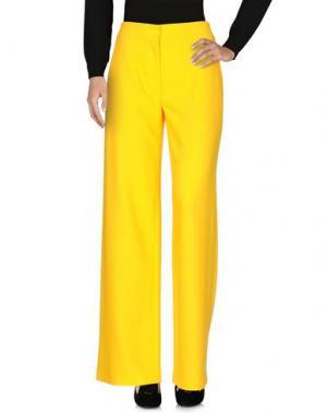 Повседневные брюки BOBBY KOLADE. Цвет: желтый