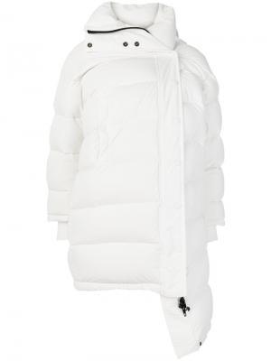 Куртка-пуховик Outspace Balenciaga. Цвет: белый