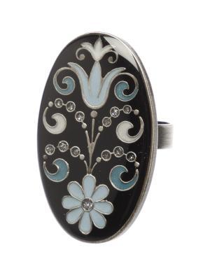 Кольцо Clara Bijoux. Цвет: черный, голубой, синий