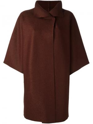 Пальто с широкими рукавами Harris Wharf London. Цвет: коричневый
