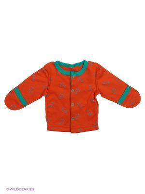 Распашонка Babycollection. Цвет: оранжевый