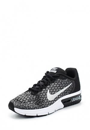 Кроссовки Nike. Цвет: черно-белый