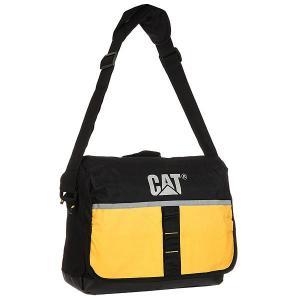 Сумка через плечо  Zinc Cat Yellow/Black Caterpillar. Цвет: черный,желтый