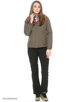 Куртка демисезонная Trespass. Цвет: хаки