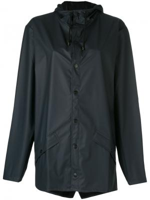 Куртка-дождевик Rains. Цвет: синий