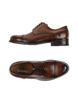 Обувь на шнурках CALPIERRE. Цвет: коричневый