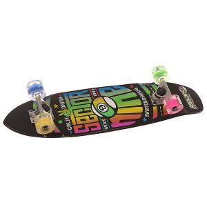 Скейт круизер  Wedge Glo Whl Multi 7.25 x 31.25 (79.4 см) Sector 9. Цвет: черный,зеленый,синий