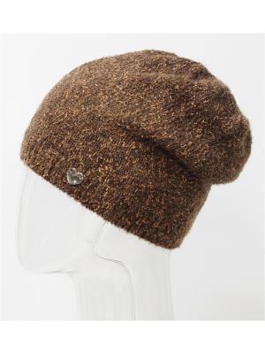 Шапка Marhatter. Цвет: коричневый