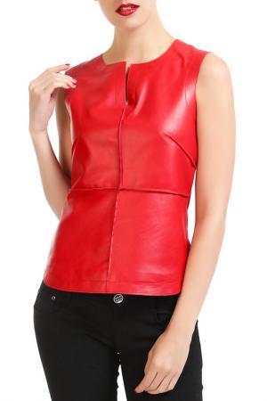 Блуза Isaco & Kawa. Цвет: красный