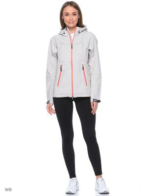 Куртка Stayer. Цвет: светло-бежевый, розовый