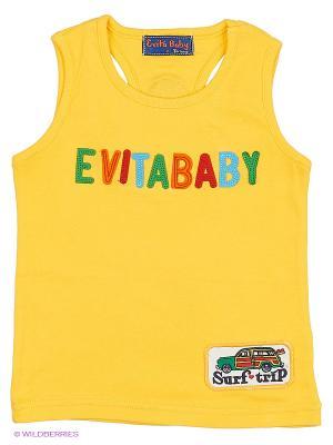 Майка Evita Baby. Цвет: желтый
