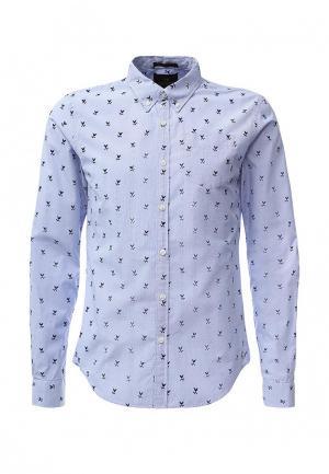 Рубашка Scotch&Soda. Цвет: голубой