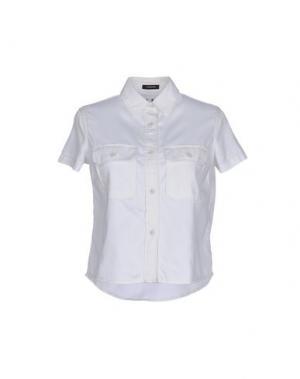 Pубашка NLST. Цвет: белый