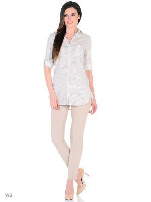 Рубашка женская lawiggi. Цвет: белый