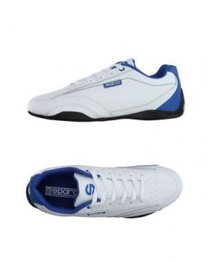 Низкие кеды и кроссовки SPARCO. Цвет: белый