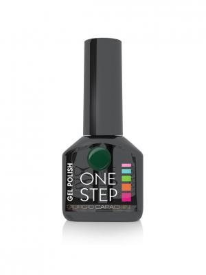 Однофазный гель-лак One Step №54, 6 мл GIORGIO CAPACHINI. Цвет: темно-зеленый