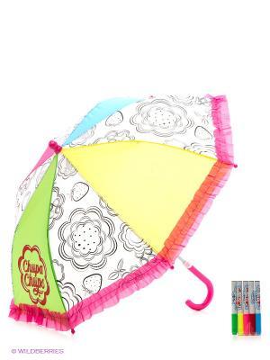 Зонтик для раскрашивания Клубничное настроение Чудо-творчество. Цвет: розовый