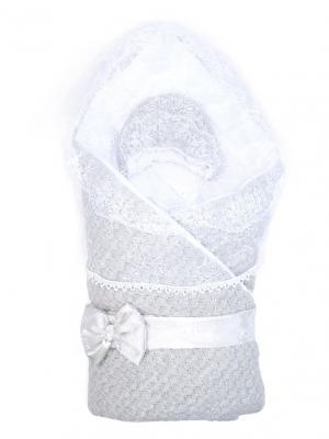 Конверт-одеяло Жемчужинка Сонный гномик. Цвет: серый
