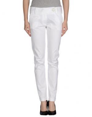 Повседневные брюки OLLY DOO. Цвет: белый