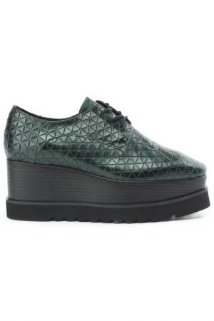 Ботинки NURIA. Цвет: зеленый