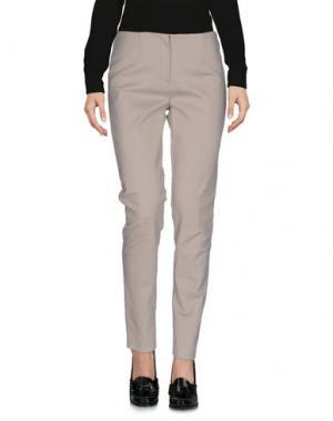 Повседневные брюки LES COPAINS. Цвет: серый
