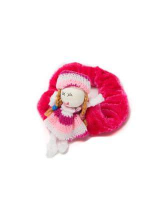 Резинка для волос Mitya Veselkov. Цвет: розовый