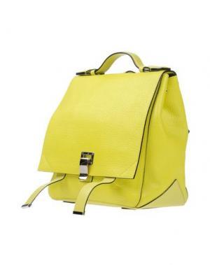 Рюкзаки и сумки на пояс PROENZA SCHOULER. Цвет: кислотно-зеленый