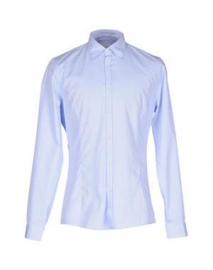 Pубашка GOLD CASE by ROCCO FRAIOLI. Цвет: небесно-голубой