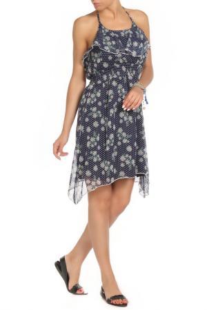 Платье Twenty. Цвет: синий