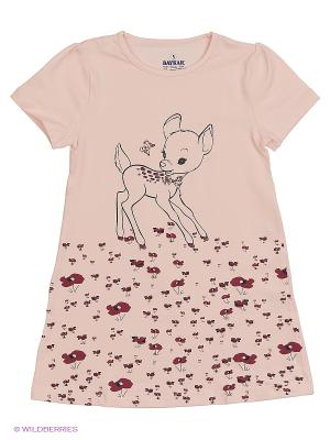 Ночная сорочка BAYKAR. Цвет: бледно-розовый