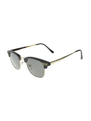 Очки солнцезащитные Infiniti. Цвет: золотистый, черный, серый