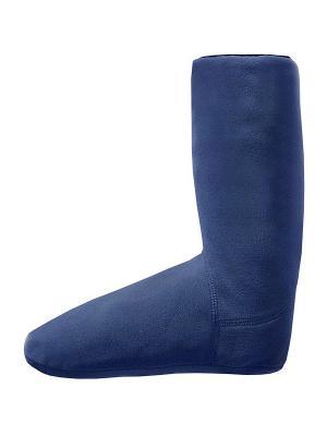 Носки флисовые Талви Nova tour. Цвет: синий