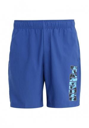 Шорты спортивные PUMA. Цвет: синий