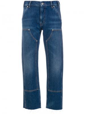 Джинсы Phoebe Mih Jeans. Цвет: синий