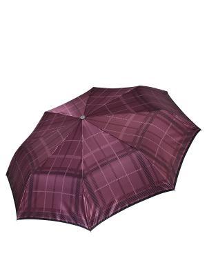 Зонт Fabretti. Цвет: бордовый